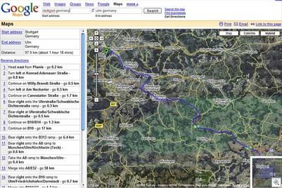 Googlemaps-directions