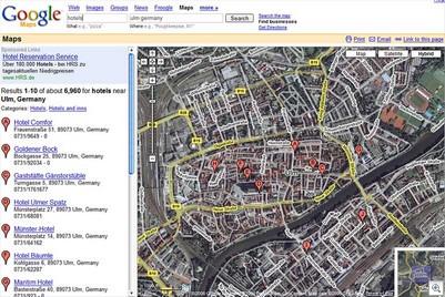 Googlemaps-hotels