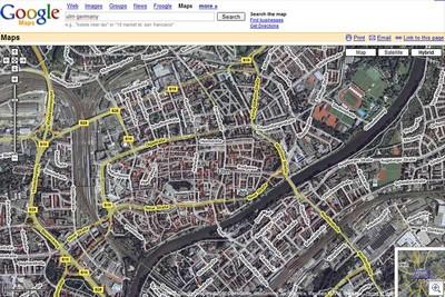 Googlemaps-hybrid