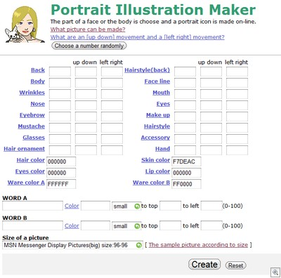 Portrait-illustration-maker